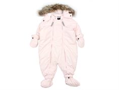 Ver de Terre baby snowsuit rose powder